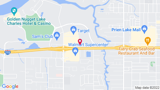 Residence Inn Lake Charles Map