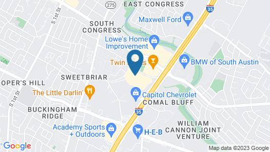 Staybridge Suites Austin South Interstate Hwy 35, an IHG Hotel Map