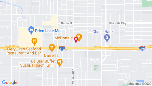 Comfort Inn Near Casino Map