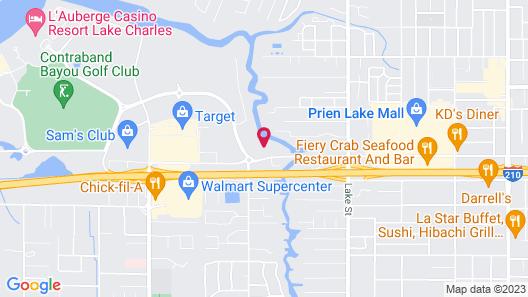 Home2 Suites by Hilton Lake Charles, LA Map