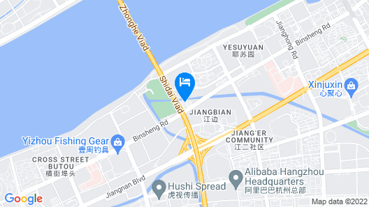 Kending Apartment Hotel - Hangzhou Map