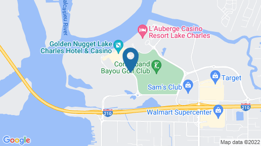 Golden Nugget Lake Charles Map