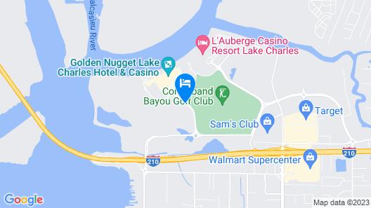Golden Nugget Lake Charles Map