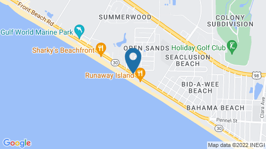 Emerald Beach Resort by Resort Collection Map