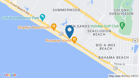 Club Wyndham Panama City Beach Map