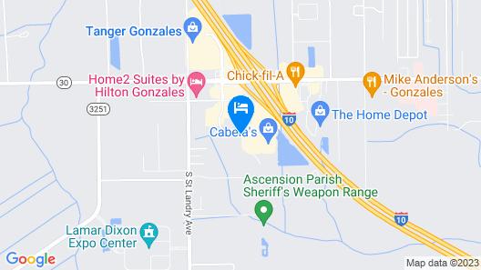 La Quinta Inn & Suites by Wyndham Gonzales LA Map