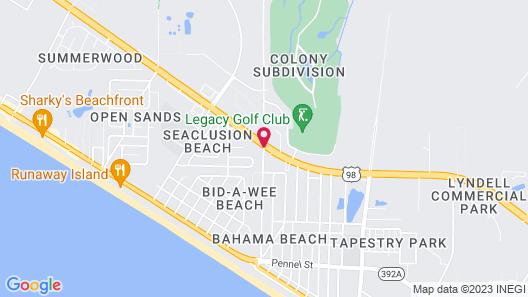 Hampton Inn & Suites Panama City Beach - Pier Park Area Map