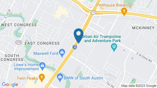 Red Roof Inn PLUS+ Austin South Map