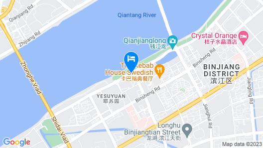 Sheraton Grand Hangzhou Binjiang Hotel Map