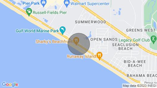 Origin 1120- Steps to Beach! Amazing Gulf View! Map