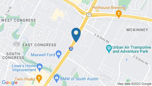Residence Inn By Marriott Austin South Map