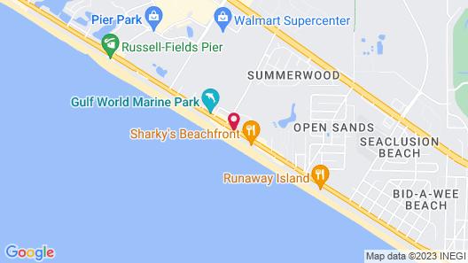 Seahaven Beach Hotel Map