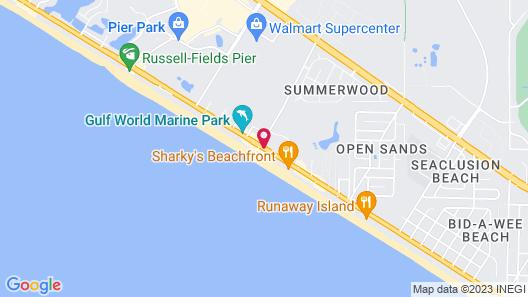 Radisson Hotel Panama City Beach - Oceanfront Map