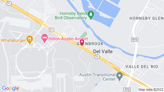 Quality Inn & Suites Airport Map
