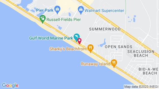 Ramada by Wyndham Panama City Beach / Beachfront Map