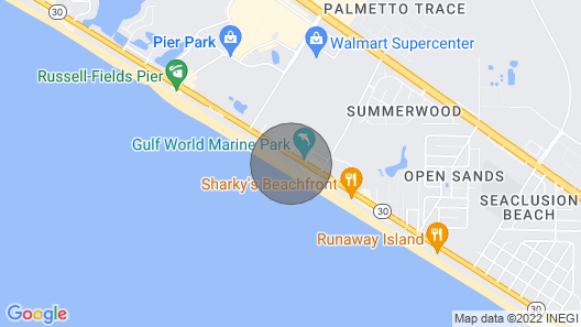 Affordable Beach Front Condo - Renovated - Must see Beach View Map