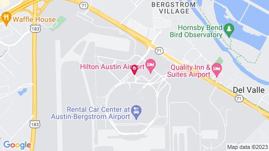 Hyatt Place Austin Airport Map