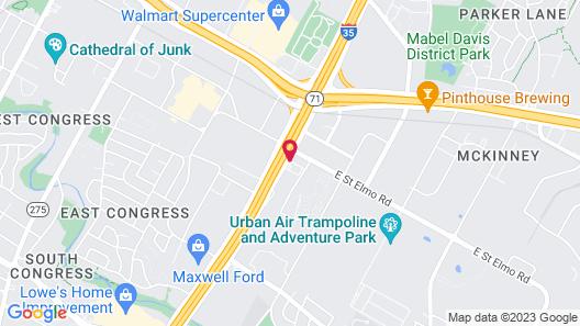 Ramada by Wyndham Austin South Map
