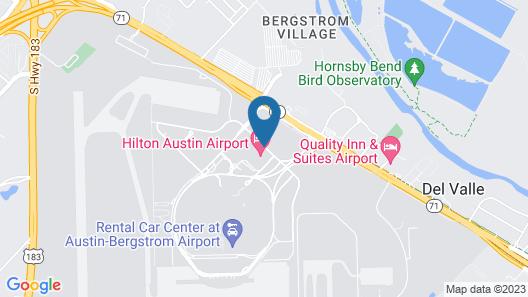 Hilton Austin Airport Map