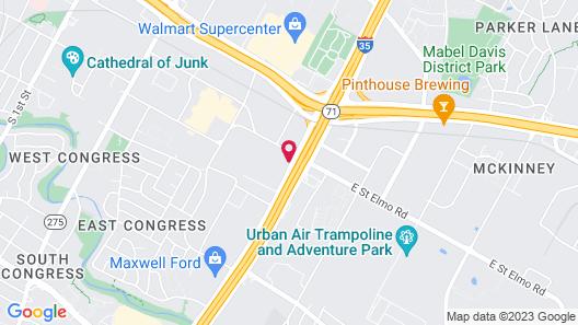 Sonesta Simply Suites Austin South Map