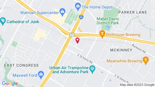 Homewood Suites by Hilton Austin South Map