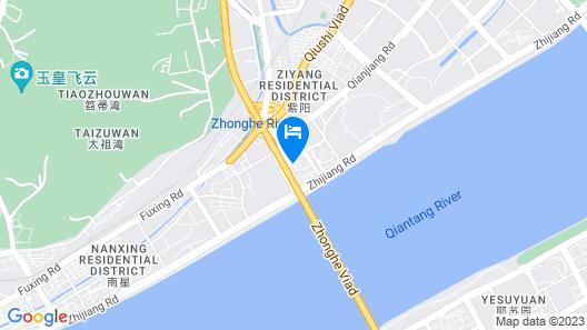 Hangzhou Lingtao Pavilion Hotel Map