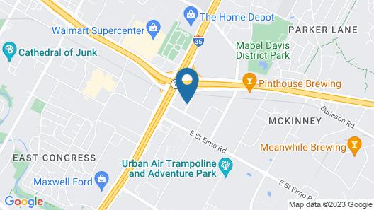 Austin Southpark Hotel Map