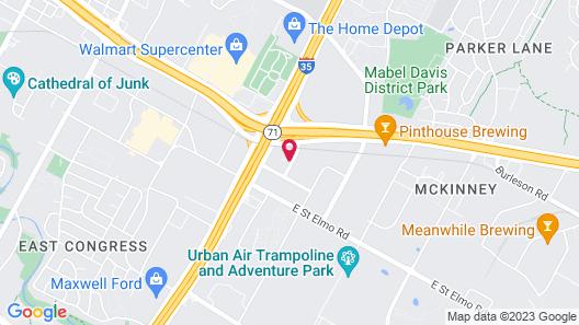 Omni Austin Hotel at Southpark Map