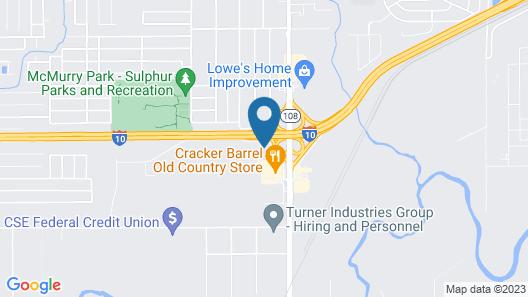 Holiday Inn Express & Suites Sulphur (Lake Charles), an IHG Hotel Map