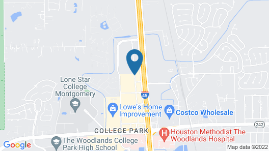SpringHill Suites Houston The Woodlands Map
