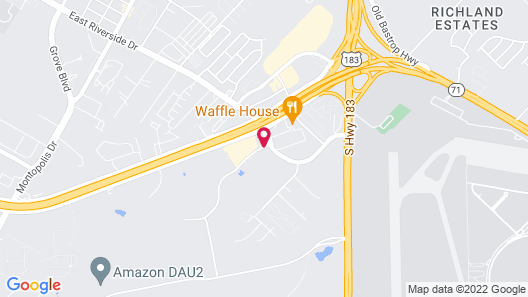 Microtel Inn & Suites by Wyndham Austin Airport Map