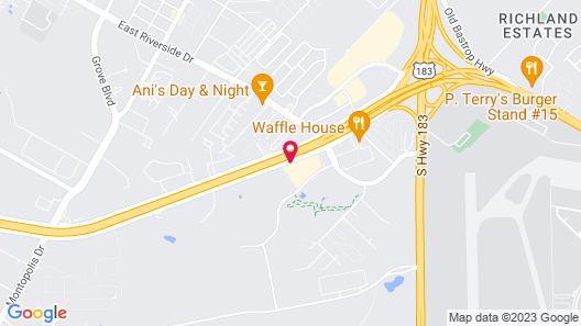 Comfort Suites Austin Airport Map
