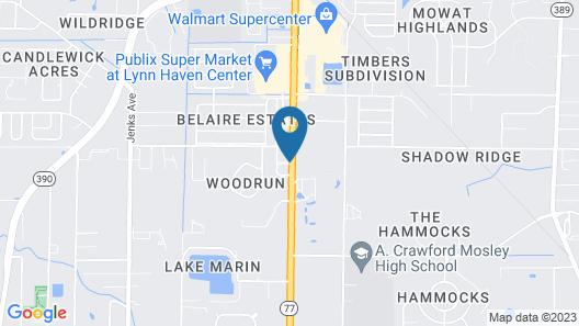Wingate by Wyndham Panama City Area Lynn Haven Map