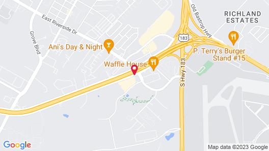 La Quinta Inn & Suites by Wyndham Austin Airport Map