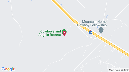 Cowboys and Angels Retreat Map