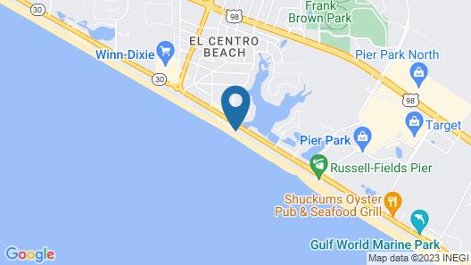 Panama City Resort & Club, a VRI resort Map