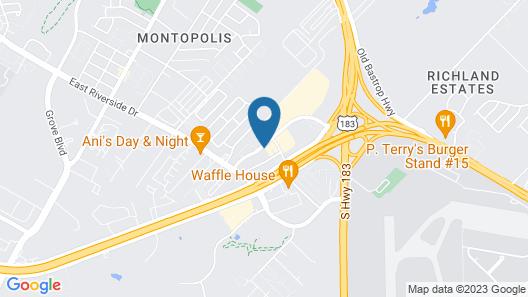 Home2 Suites by Hilton Austin Airport Map