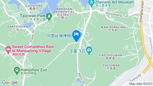 Ru Yi Boutique Hotel At West Lake Map