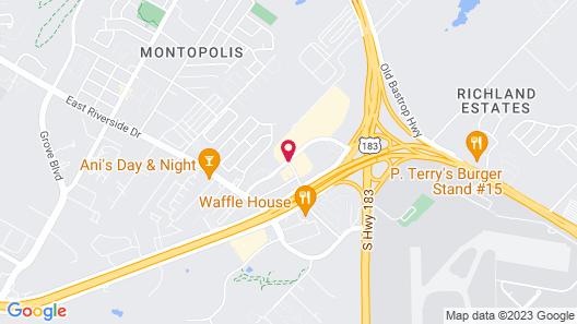 Staybridge Suites Austin Central / Airport Area Map