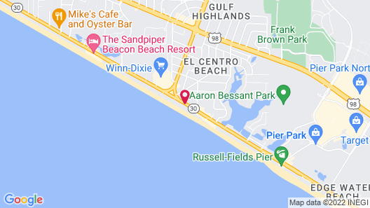 Beachcomber By The Sea Map