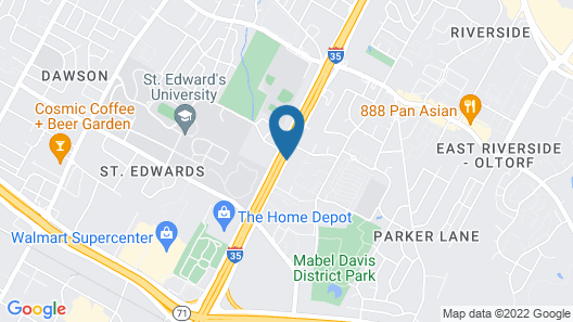 Travelodge by Wyndham Austin South Map