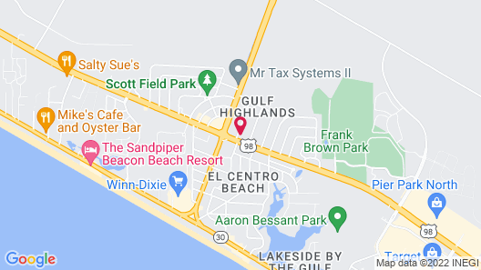 Candlewood Suites Panama City Beach Pier, an IHG Hotel Map