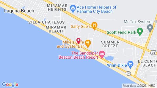 Portside Resort by Panhandle Getaways Map