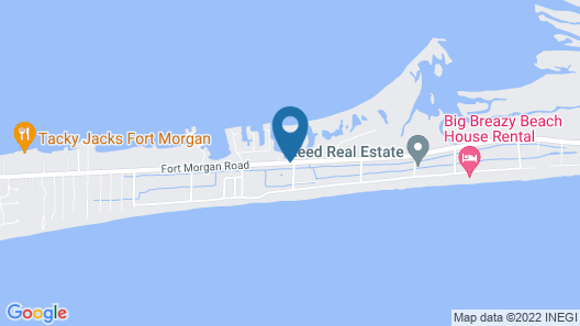 Navy Cove Harbor 1203 - 2 Br condo Map