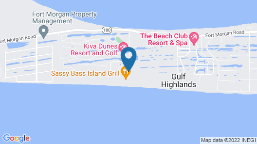Gulf Shores Plantation 4310 - 2 Br condo Map