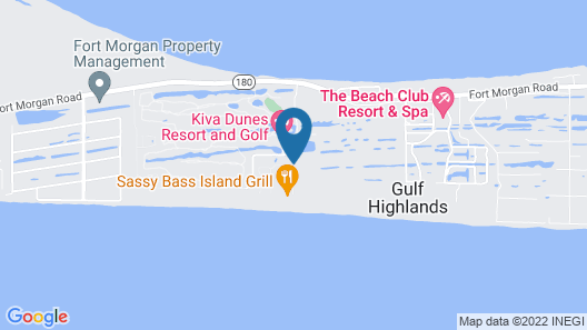 Gulf Shores Plantation Royal Gulf Beach and Racquet Club Unit 5113 Map