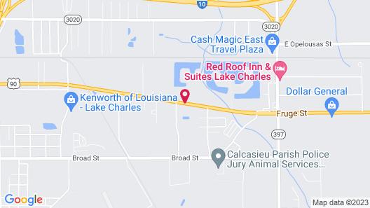 Sunrise Inn Map