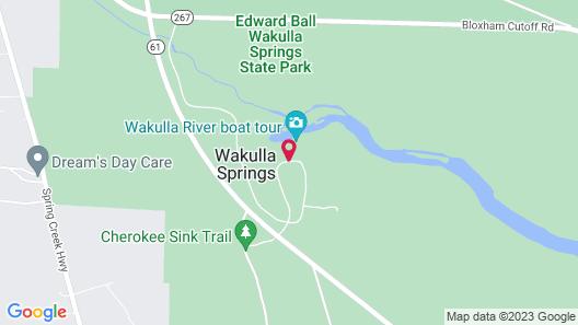 The Lodge at Wakulla Springs Map
