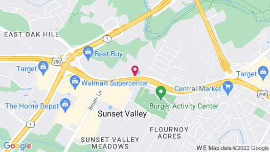 Holiday Inn Express Hotel & Suites Austin - Sunset Valley, an IHG Hotel Map