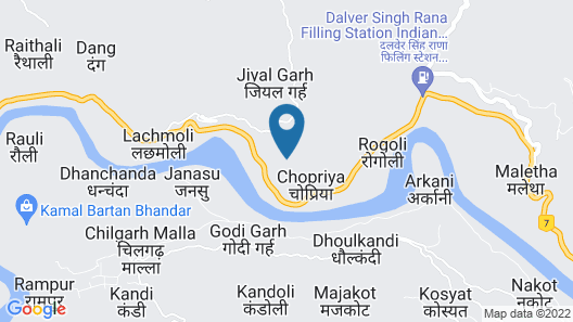 Camp High 5 By Himalayan Eco Lodges Map